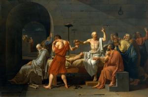 La mort de Socrate par ciguë et opium