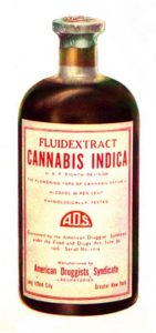 fiole cannabis indica